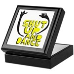 Shut Up And Dance Keepsake Box