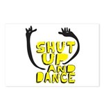 Shut Up And Dance Postcards (Package of 8)