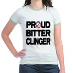 Proud Bitter Clinger Jr. Ringer T-Shirt