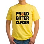 Proud Bitter Clinger Yellow T-Shirt