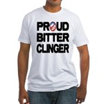 Proud Bitter Clinger Fitted T-Shirt
