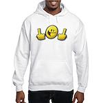 Smiley Fingers Hooded Sweatshirt