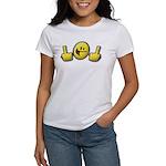 Smiley Fingers Women's T-Shirt
