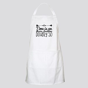 Time is an illusion. Lunchtime doubly Light Apron