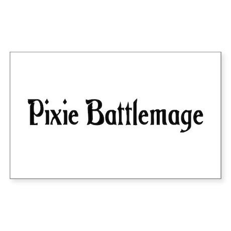 Pixie Battlemage Rectangle Sticker 50 pk)