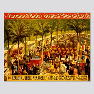 Barnum & Bailey (A) Small Poster