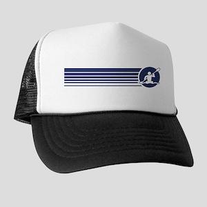 Retro Kayaking Trucker Hat