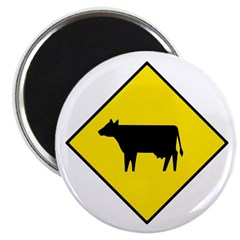 Cattle Crossing Sign - 2.25