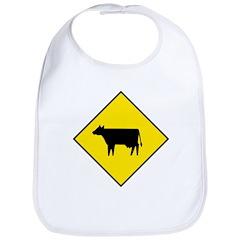 Cattle Crossing Sign - Bib