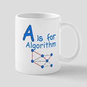 A is for Algorithm Mug