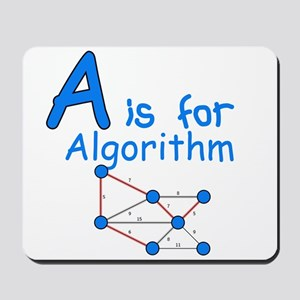 A is for Algorithm Mousepad