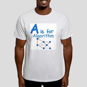 A is for Algorithm Light T-Shirt