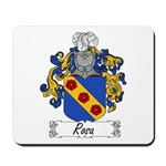 Rosa Family Crest Mousepad