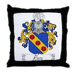 Rosa Family Crest Throw Pillow