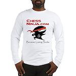 ChessNinja.com logo Long Sleeve T-Shirt