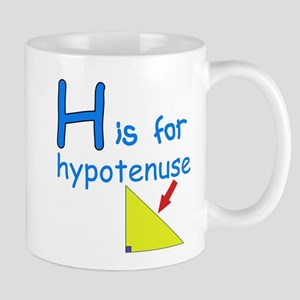 H is for Hypotenuse Mug