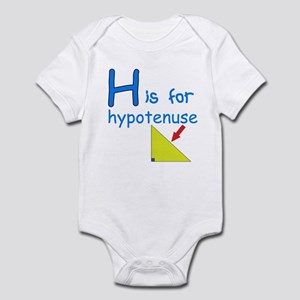 H is for Hypotenuse Infant Bodysuit