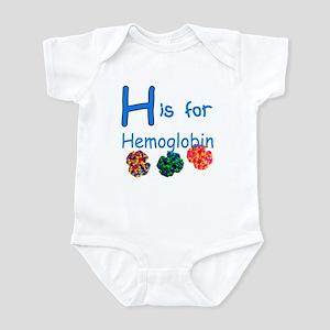 H is for Hemoglobin Infant Bodysuit