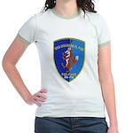 USS DOUGLAS H. FOX Jr. Ringer T-Shirt