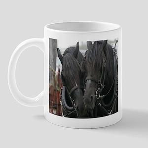Percheron Draft Horses Mug