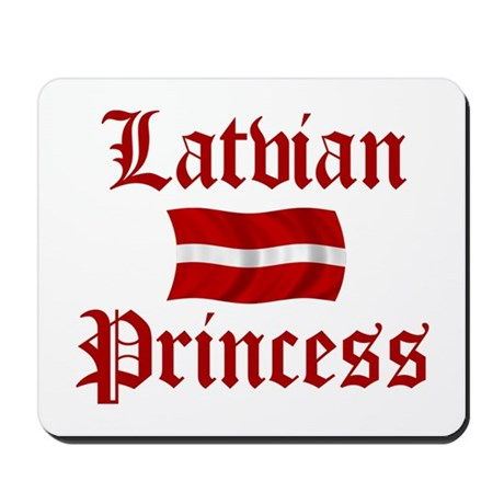 Latvian Princess Mousepad