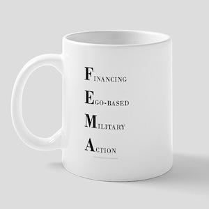 Financing Ego-based Military Action Mug