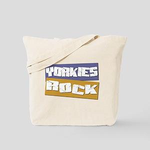 Yorkies ROCK Tote Bag