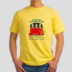 """Banana"" Republican Decoy Yellow T-Shirt"