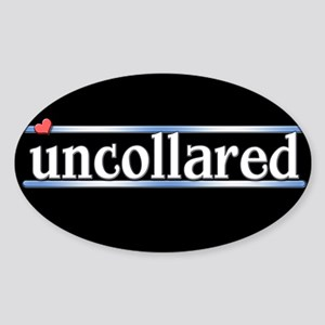 Uncollared Sticker (Oval)