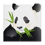 Panda Bear Tile Coaster