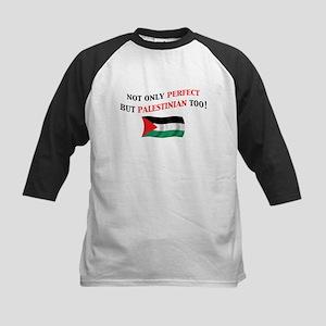 Perfect Palestinian 2 Kids Baseball Jersey