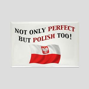 Perfect Polish 2 Rectangle Magnet