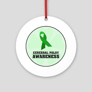CP Awareness Ornament (Round)