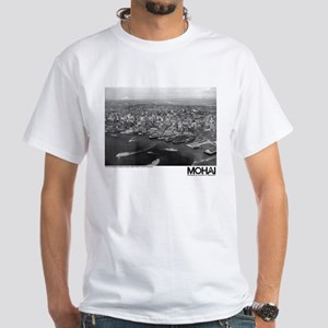 Seattle Waterfront 1936 White T-Shirt