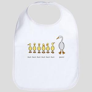 Duck Duck Goose Bib