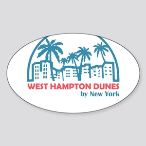 New York - West Hampton Dunes Sticker