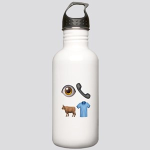 I Call Bull Shirt Water Bottle