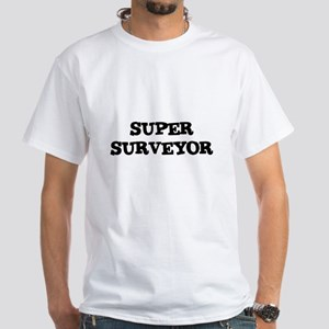 SUPER SURVEYOR White T-Shirt