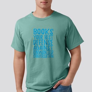 Books Best Defense Against Unwanted Conver T-Shirt