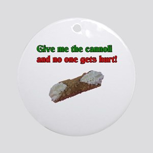 Give me the cannoli and no one gets hurt! Ornament