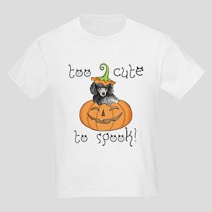 Halloween Poodle Kids Light T-Shirt