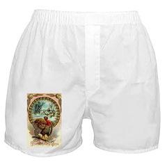 Thanksgiving Joys Boxer Shorts
