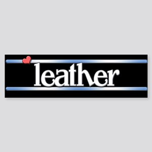 Leather Sticker (Bumper)