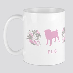 """Elegant"" Pug Mug"