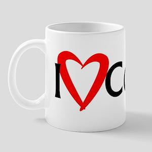 I Heart Coding Mug