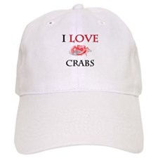 I Love Crabs Cap