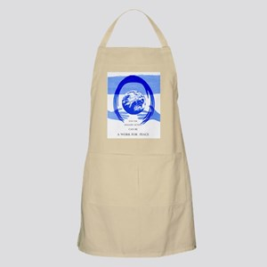 Peace Poster BBQ Apron
