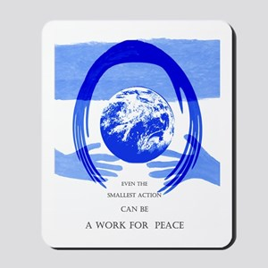 Peace Poster Mousepad