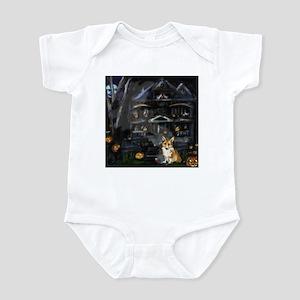 Halloween House Corgi Infant Bodysuit