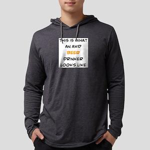 avid beer drinker Mens Hooded Shirt
